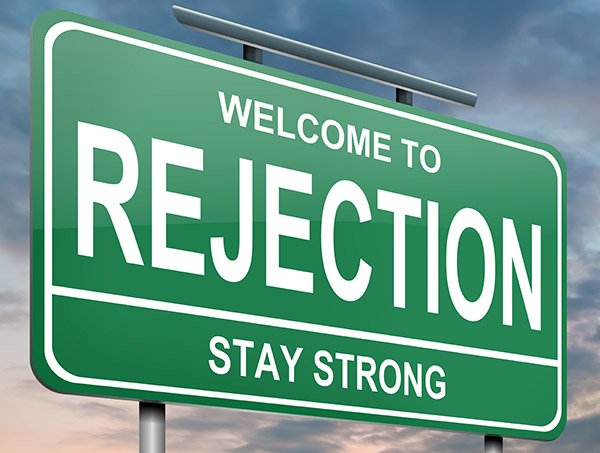 Fear being rejected in your fundraising