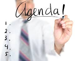 Agendas are key tools in nonprofit governance