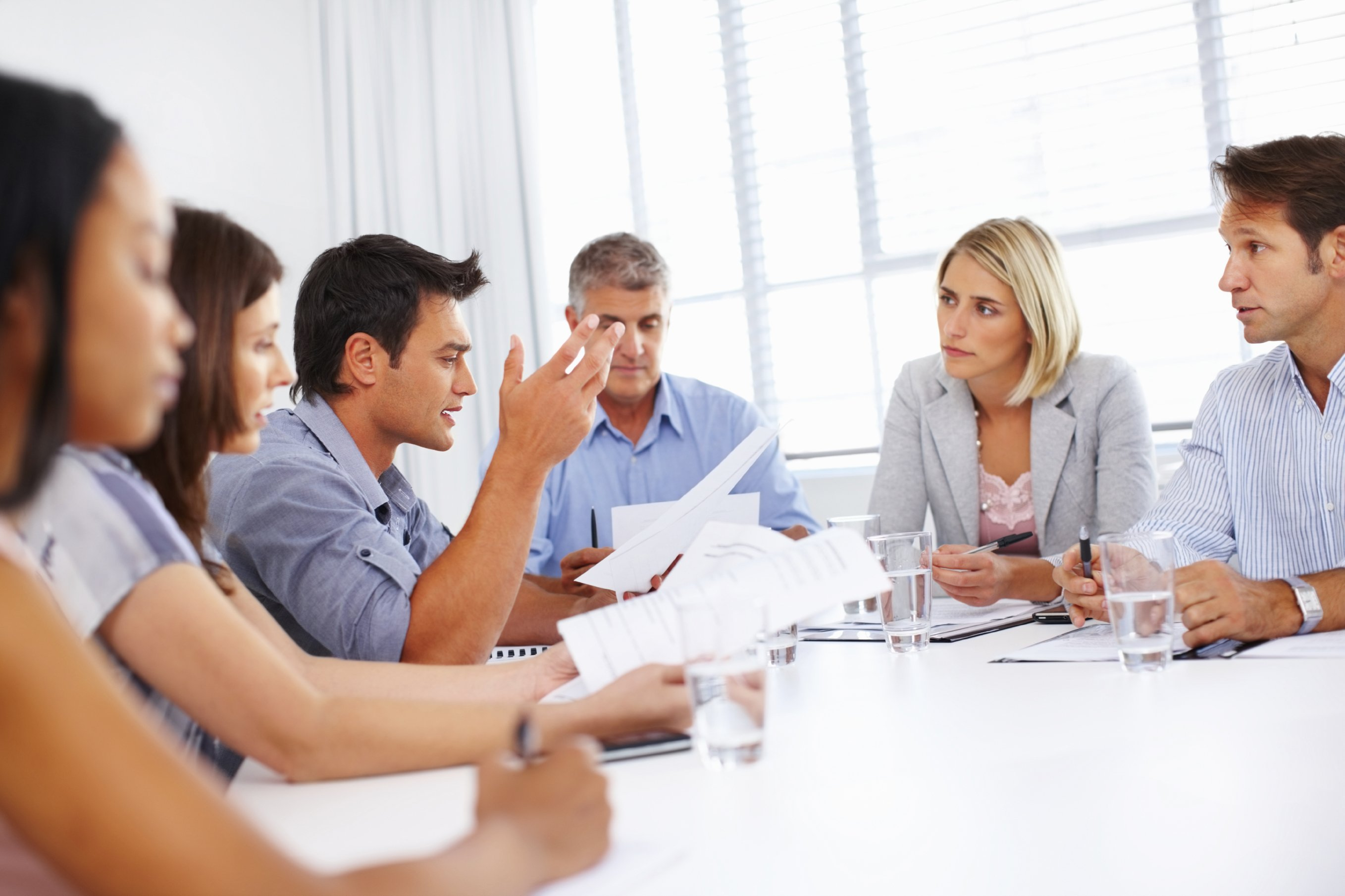 Meetings, meetings, meetings!  Are they positioned correctly?